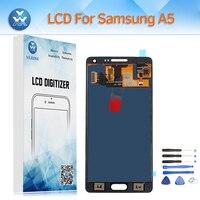 Samsung Galaxy A500 LCD Ekran Için Yezone LCD A5 2015 A5000 SM-A500F A500M A500H + Ekran için Dokunmatik Sayısallaştırıcı Meclisi aracı