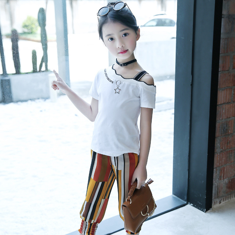 item image  Lady's Garments 2018 Summer season New Child Ladies Clothes Set Youngsters's Garments Ladies T-Shirt + Shorts 2Pcs Flower Child Units Girl s Clothes 2018 Summer New Baby Girls Clothing Set Children s Clothes Girls T Shirt