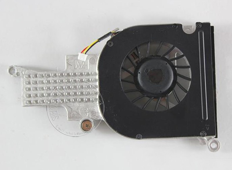 New cpu fan for DELL 1400 1420 PP26L Graphics Card fan with heatsink, original 1400 1420 laptop cpu cooling fan laptop radiator 1pcs original new laptop cpu heatsink for dell d620 d630 d631