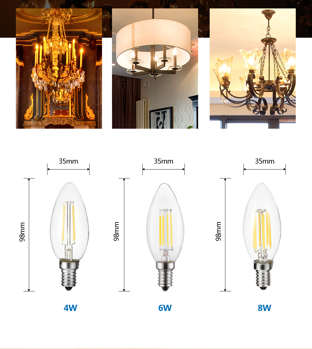 Dimmable Vintage Filament Lamp