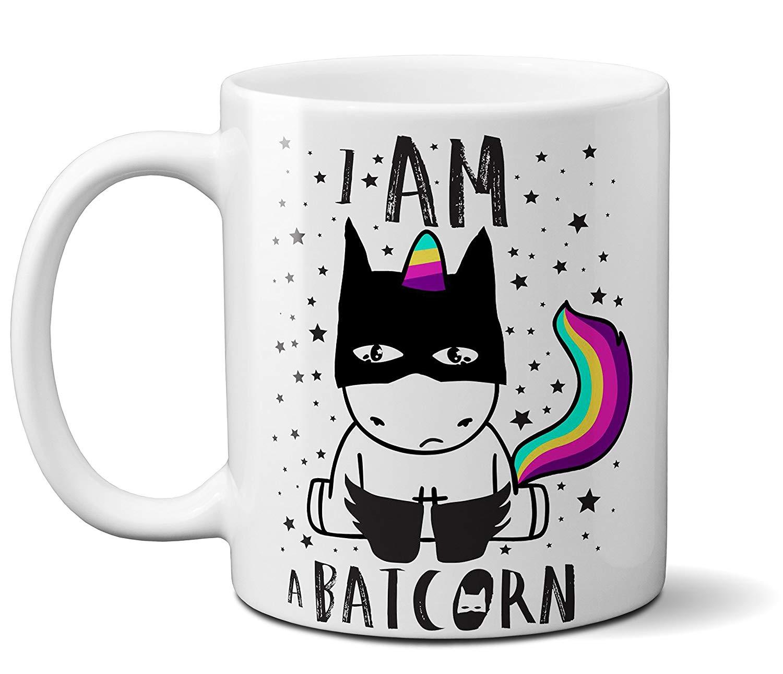 """""""einhorn Ich Bin Ein Batcorn"""" Lustige Einhorn Batcorn Kaffee Becher Großes Geschenk üBerlegene Leistung"""