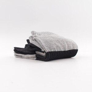 Image 2 - O novo algodão cor luta cinco dedos meias masculinas desodorante casual suor dedos meias masculinas