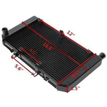 Motorcycle Aluminum Replacement Radiator Cooler Cooling For HONDA CB600 HORNET CBF600 CB 600 CBF 600 2008-2013 2009 2010 2011