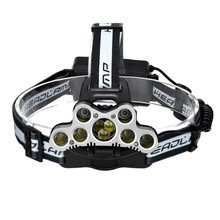 Super 45000 LM 9X XM-L T6 LED 18650 Waterproof Rechargeable Headlamp Headlight Travel Head Torch Dropshipping A35