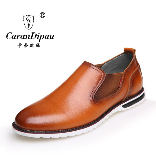 2016 New Fashion Suede Genuine Leather Flat Men Casual Oxford Shoes Low Men Leather Shoes