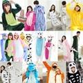 NEW Adult Pajamas Cosplay Cartoon Animal Onesie Sleepwear Cat Tiger Stitch Bear Panda Dog Unicorn Free Shipping