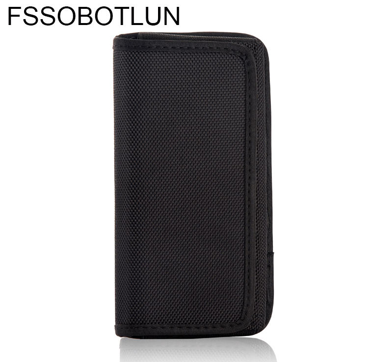 FSSOBOTLUN,For Ulefone Gemini Horizontal Holster 5.5,Nylon Pouch With Hook Belt Loop Cover For Ulefone Tiger X/Tiger Lite/T1