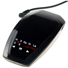 Best V1 Car Radar Detector Anti Radar Detector Detectors Car Alarm Vehicle Speed Control Electronic Dog Russian/ English version