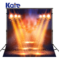 KATE Photography Background 5x7ft Lamplight Stage Backdrop Christmas Stage Backdrops Hollywood Style Background For Photo Studio