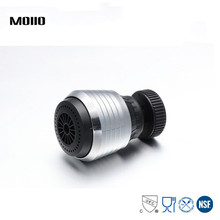 MOIIO Rotatable faucet nozzle Aerator 360 Rotation Water Saving Double Swivel Super Sprayer Kitchen Faucet Tap parts