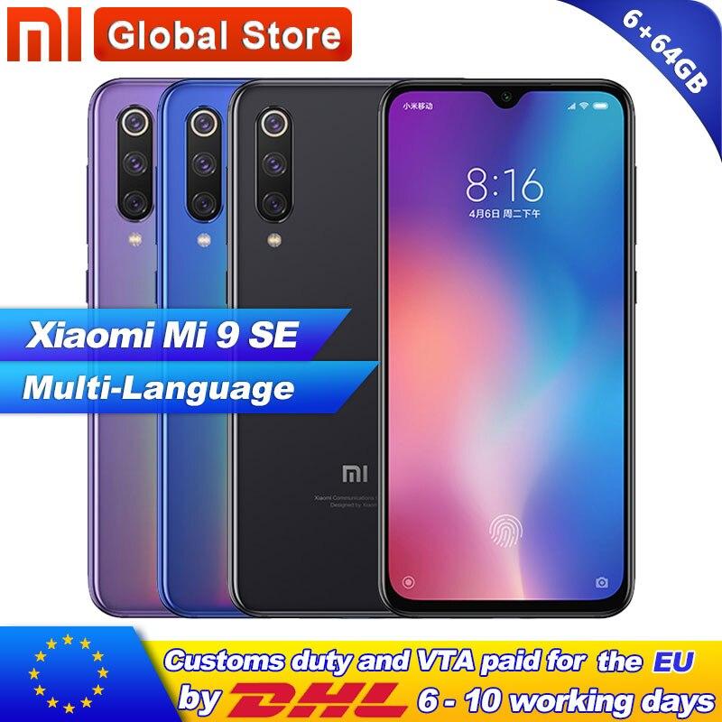 Xiaomi Mi 9 SE 6GB 64GB Phone Mi9 SE Telephone Snapdragon 712 Octa Core 5 97