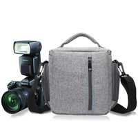 High Quality DSLR Camera Bag For Canon EOS Camera Backpack Lens Pouch Shoulder Nikon Bag Sony Panasonic Olympus OMD Fujifilm Bag