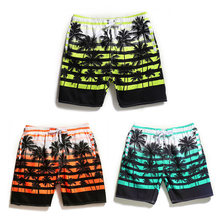 Men Quick-dry Beach Short for Swimming Breathable Loose Surfing Pants Water Sport Large Size Straight Beach Swimshorts(China)