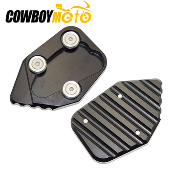 Motorcycle Side Stand Pad Plate Kickstand Enlarger Support Extension For Honda CBR1000RR 2008 2009-2016 CBR 1000 RR CBR 1000RR image