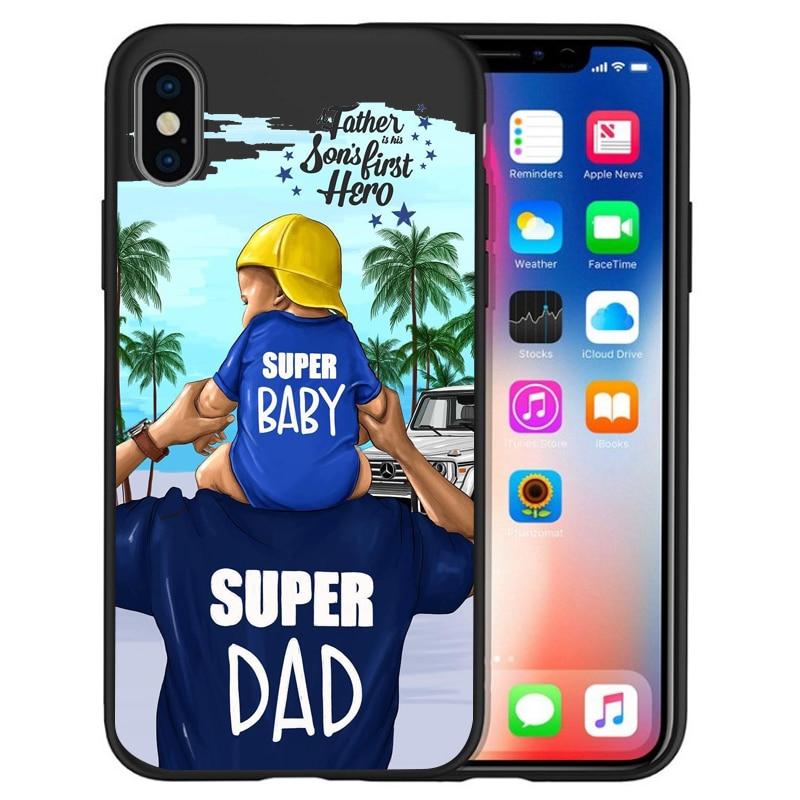 Чехол для iPhone X, модный, супер мама, девочка, для Iphone 5, 5S, 6, 6 S, 7, 8 Plus, X, XS, Max, XR, мягкий силиконовый чехол, Etui - Цвет: 09