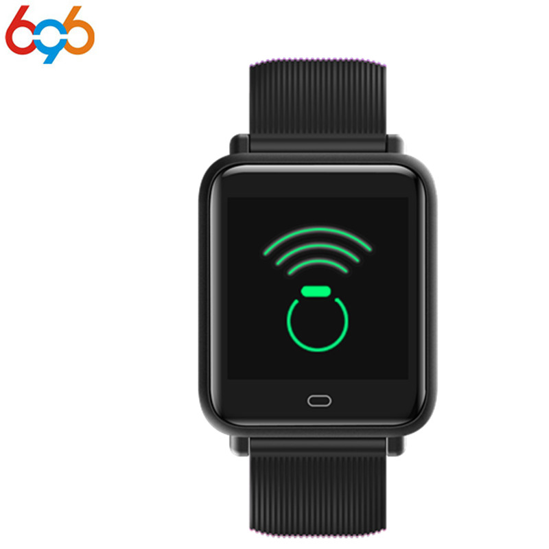 696 Sensible Bracelet 1.three Inch Tft Hd Blood Stress Oxygen Coronary heart Charge Monitor Multi-Sports activities Mode Health Bluetooth Wristband Pk Ban