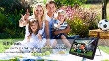 Envío Gratis Digital HD DVB-T2 TV Analógica Y TV 9 Pulgadas DVB-T Receptor de televisión Y la Reproducción de Audio Y Vídeo USB Portátil TV