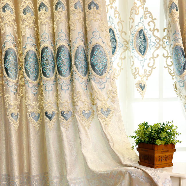 brod rideaux pour salon salle manger chambre haute classe de style europen villa de