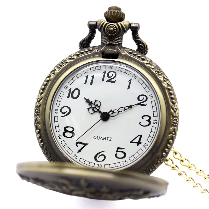 b83b420b4 Vintage Ladies Pocket Watch Delicate 3D Flowers Sculpture Pendent Necklace  Elegant Women Clock Best Girls Lovers Birthday Gift-in Pocket & Fob Watches  from ...