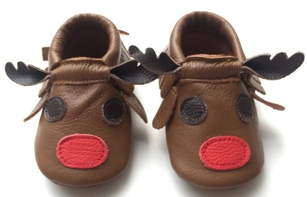 Free shipping Cute Brown Cow printed Genuine Leather Baby Moccasins Shoes Baby boys Shoes Newborn prewalkers toddler Bebe Shoes