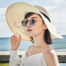 Lace Summer Sun Hats for Women New Fashion Feather beach hat Sombrero net flower Wide Brim Floppy Female Straw Hat
