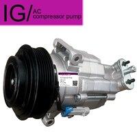 CSP15 Auto AC Compressor For Chevrolet Cruze 6pk 12V 2009 2010 2011 96966630 For Cruze Air Conditioner Compressor