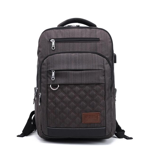 CROSS OX женский и мужской рюкзак, Одноцветный 14 дюймовый рюкзак для ноутбука, компьютерная нейлоновая школьная сумка, BK8022