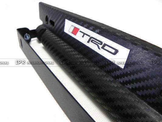 Imitation Carbon Weave License Holder TRD (1)_1