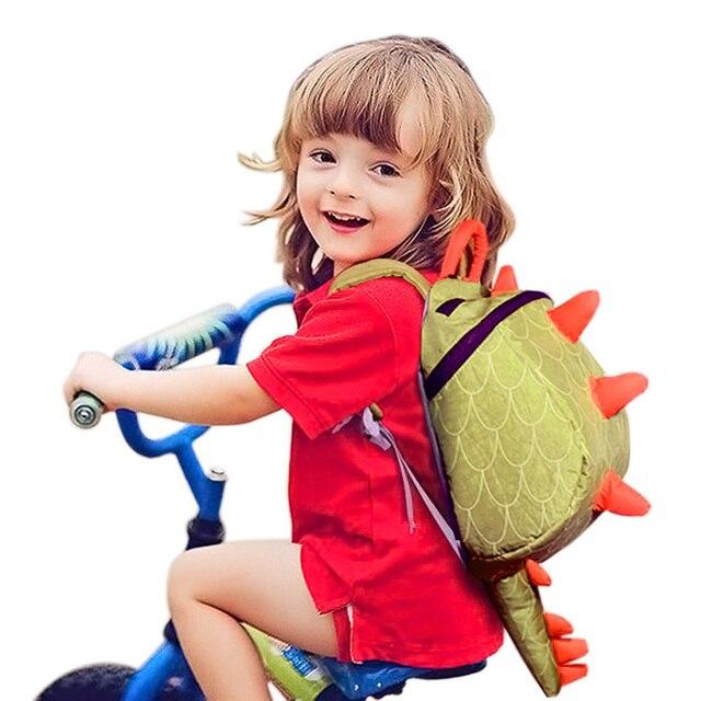 Маленький удобный рюкзак для детей маленького возраста мальчиков и девочек в форме хвоста динозавра сумка для ребёнка в путешествия
