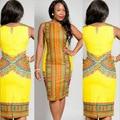 Африканский Платье Африканские Платья Для Женщин Robe Африканская Одежда Срок годности Новое Прибытие Полиэстер Dashiki 2016 Одежда