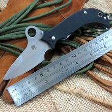 High Quality EDC Tools Khalsa C40GP Sprint Run Pocket folding Knife 9Cr Steel Blade G10 handle knife for Camping Hunting use