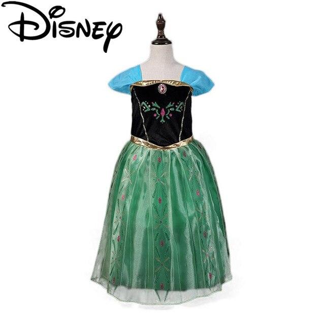 Disney Gefrorene kleid Mädchen Kinder Kleiden, Anna Elsa Baby Elza ...