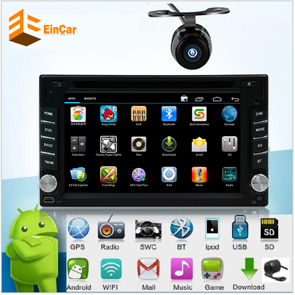 2 din Android 5 1 1 Car DVD Player GPS navigation Wifi Bluetooth font b Radio