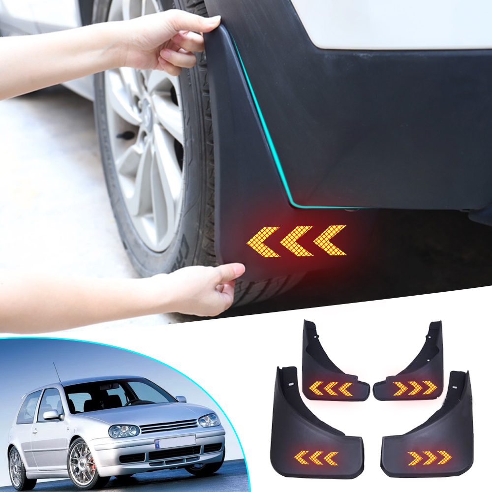 For VOLKSWAGEN <font><b>VW</b></font> Golf 4 Mk4 Golf 5 Mk5 IV V Bora 2003-2008 <font><b>Mudflaps</b></font> Splash Guards Fender Mudguards car styling 4PCS image