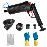 Home High Pressure Air Drain Blaster Pump Plunger Sink Pipe Clog Toilets Bathroom Kitchen Cleaner Kit Cucina Suction Cup