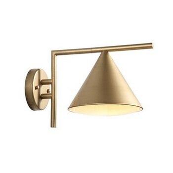 Golden wall light 270 degree rotation Wall Lamps Modern Living Room Bedroom Restaurant Decor Floor Lamp fixtures