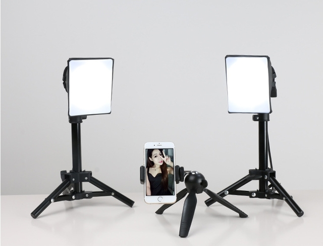 adjust height tabletop photographic lighting soft headlights