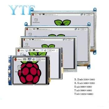 Raspberry Pi 3B + 4 B 3,2/3,5/5/7/10.1 дюймовый сенсорный HDMI ЖК-дисплей модуль поддержки