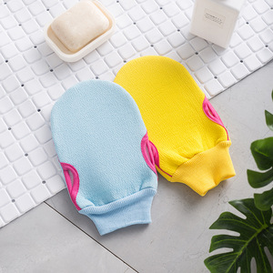 Image 5 - 1 stück Mode Kurze Bad Ball Bathsite Badewannen Kühlen Ball Bad Handtuch Wäscher Körper Reinigung Handschuh Dusche Waschen Schwamm produkt