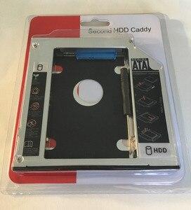 """Image 3 - WZSM חדש 12.7 מ""""מ SATA 2nd SSD HDD Caddy עבור ACER Aspire V3 771G V3 772 V3 772G V3 571G V3 471G קשה דיסק כונן caddy"""