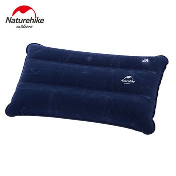 Naturehike 44*27cm Ultralight Square Pillow Mat Portable Air Inflatable Outdoor Camping Travel Soft Pillow Wholesale Hot Sale naturehike inflatable outdoor camping pillow ultralight travel pillow with pocket potable inflation cushion