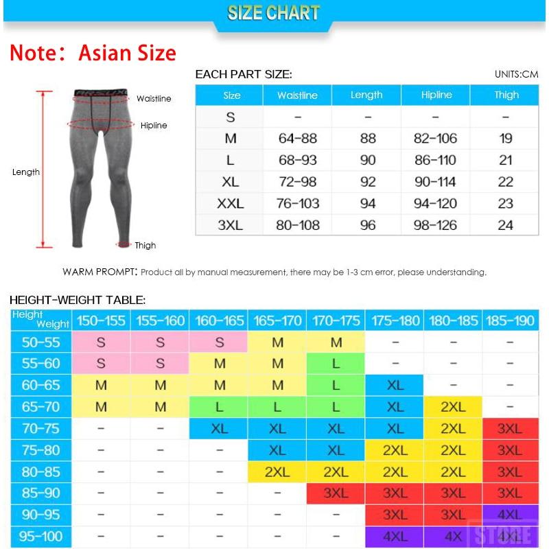 ARSUXEO Men Compression Base Layers Running Elastic Tights - Спорттық киім мен керек-жарақтар - фото 6