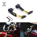 Универсальный 22 мм мотоциклетный руль для мотокросса  тормозной рычаг сцепления  защита для Yamaha YZFR3 YZFR25 R3 R25 MT09 MT 07