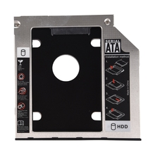 SATA 2nd Hard Disk Drive HDD Caddy Adapter for ThinkPad T400 T410 T500 R400 R500