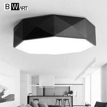 BWART Remote control living room bedroom modern led ceiling lights led-lamp ceiling-lights dimming led ceiling lamp avize
