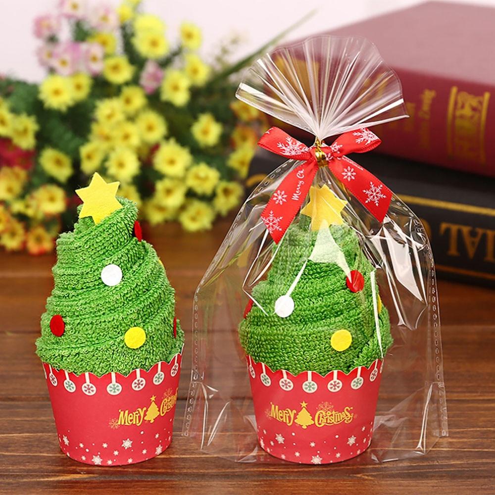 Cute santa claus towel christmas decor - 1 Pc Christmas Towel