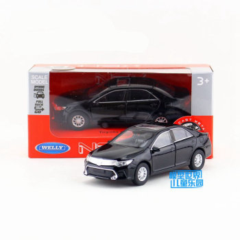 WELLY 1/36 Scale Car Model Toys TOYOTA Camry Diecast Metal Pull Back Car Toy For Collection,Gift,Children image