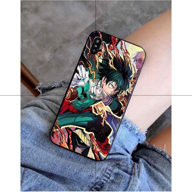 Babaite שלי גיבור אקדמיה אנימה DIY הדפסת ציור טלפון מקרה כיסוי מעטפת עבור iPhone X XS מקסימום 6 6 S 7 7 בתוספת 8 8 בתוספת 5 5S XR