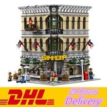 2232Pcs JP30004  City Grand Emporium Model Building Blocks Brick Toy Compatible LEPIN 15005 10211
