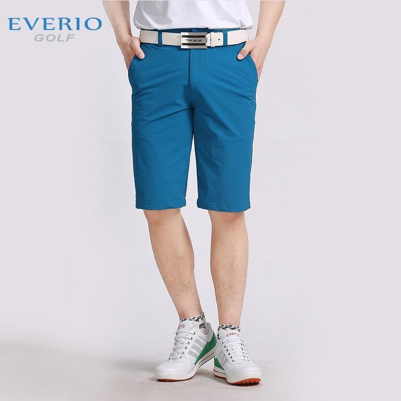 EVERIO 2017 nouveaux hommes golf sport shorts été golf formation jeu shorts hommes chaud court-pantalon 30 ~ 40 hommes golf Sportswear 4 couleurs